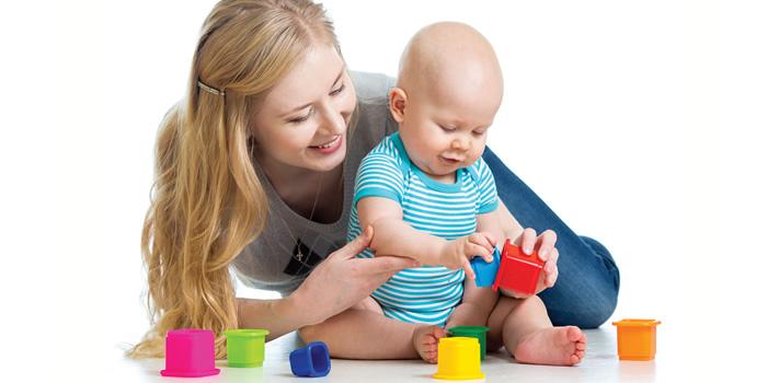 Los juegos y juguetes para el bebe