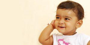 Higiene y salud del niño de 1 año