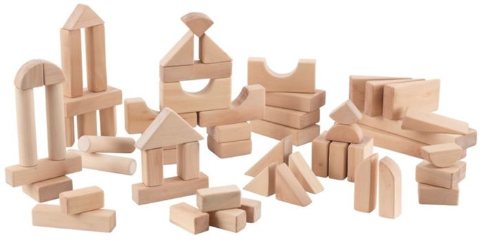 Beneficios de jugar con bloques de madera