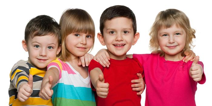 Higiene y seguridad de los niños de 3 a 5 años