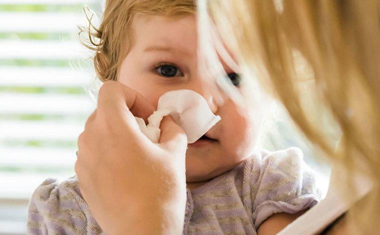 Las enfermedades de Invierno en los bebes
