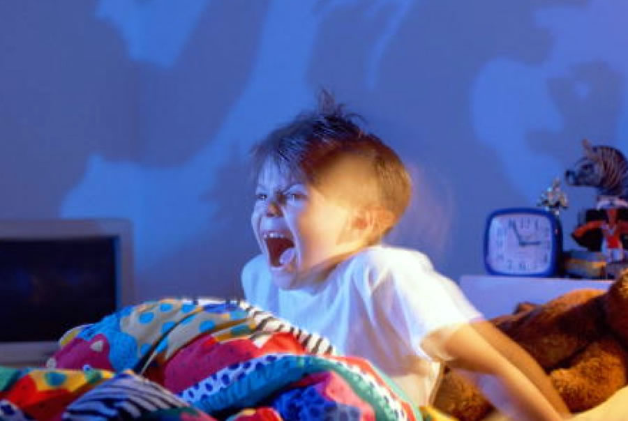 Los Terrores Nocturnos en los Bebes y Niños pequeños