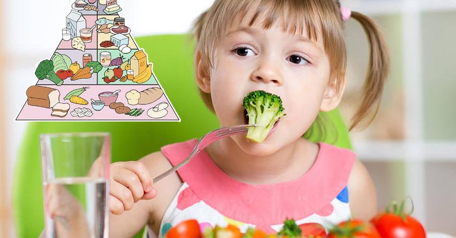 La Dieta equilibrada para niños pequeños
