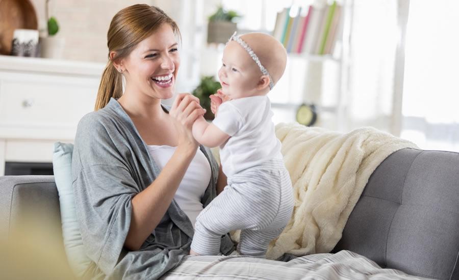 6 ejercicios que ayudarán a fortalecer los músculos en desarrollo de su bebé